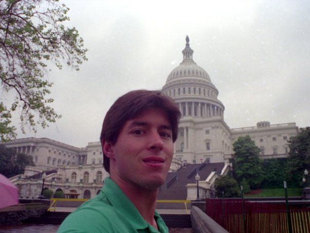 Me, age 24, May, 1989 in Washington DC