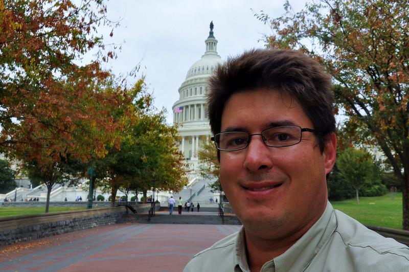 Me, age 45, October, 2010. Same spot!