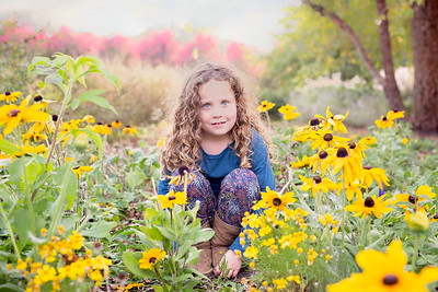 grace in yellow flowers (1 of 1)
