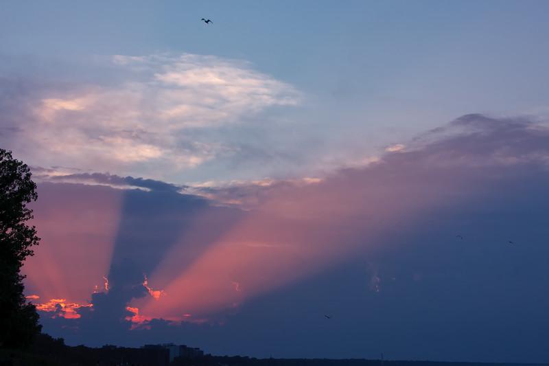 Gilson Beach sunset