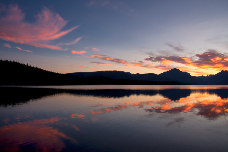 Lake McDonald sunrise 2