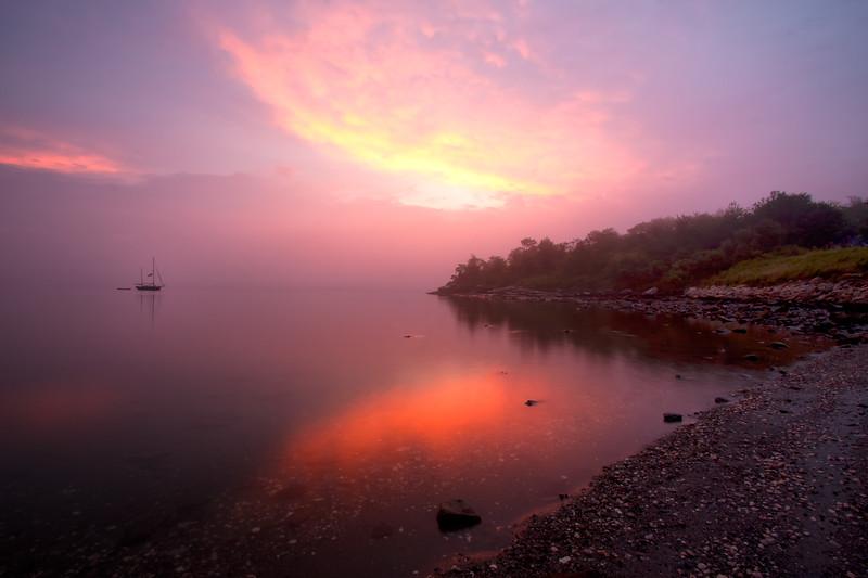 Potter Cove, RI sunrise