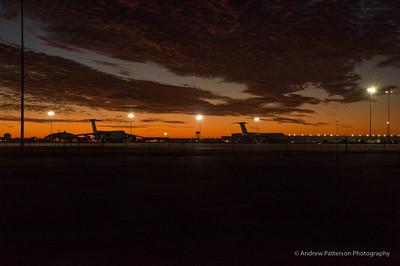 Sunrise over the Flightline