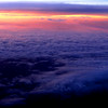 25 July 2014<br /> Aerial view of sunset: flight from Charlotte to Kansas City.