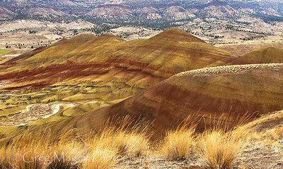Painted Hills in late fall