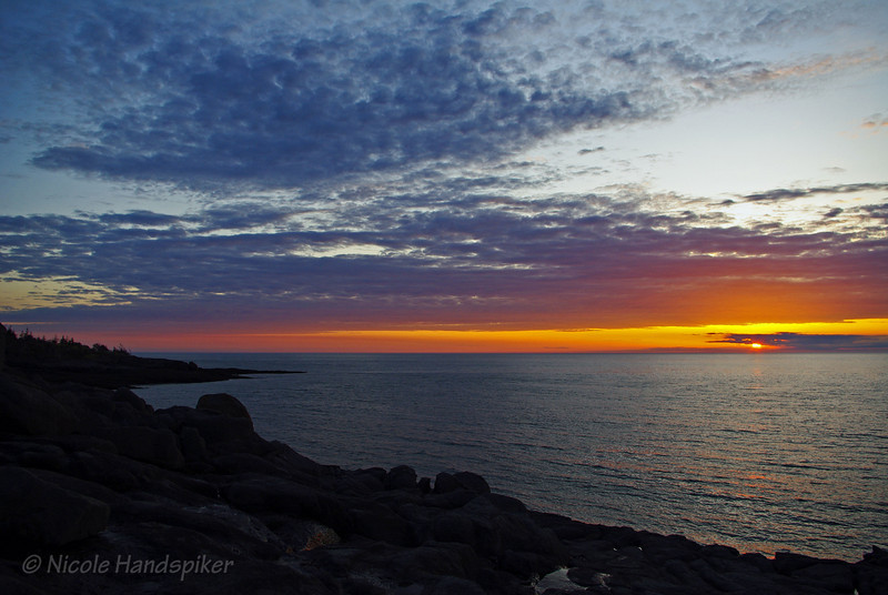Point Prim sunset, Digby NS