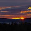 Sunset over Digby, NS