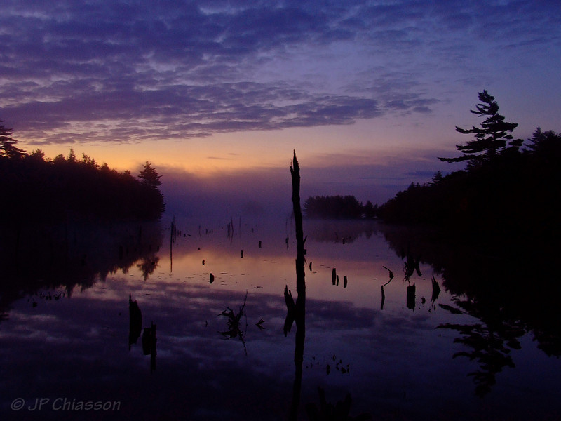 Sunrise, Grand Lake flowage, Annapolis Co. NS.