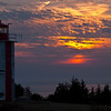 Sunset at Point Prim Lighthouse, Digby NS.