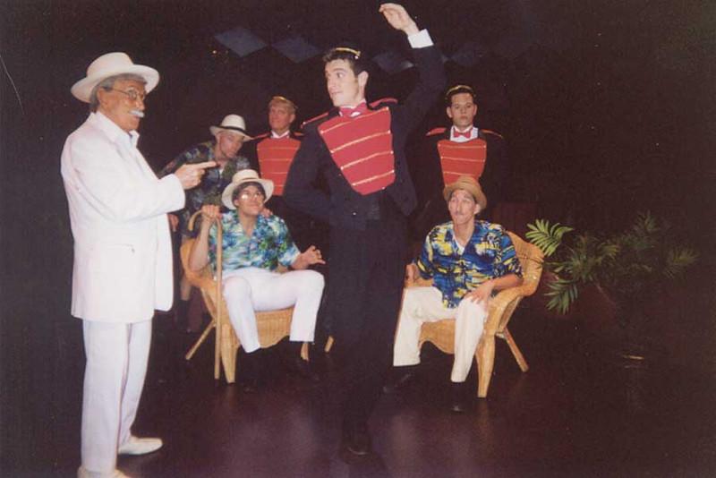 Dirty Old Men in Some Like It Hot, Boca Raton FL 2001