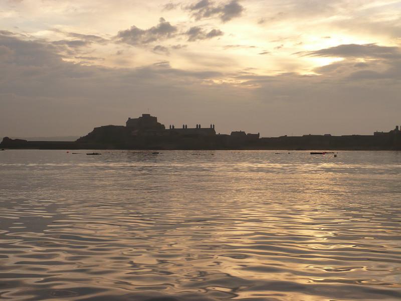 Elizabeth Castle, just outide St. Helier marina.