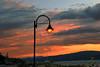 Light Pole Sunset 2