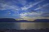 Beauty of Blue Peekskill Bay looking over the Bear Mt Range