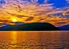 Golden Glow on Peeks-kill Bay,