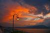 Light Pole Sunset