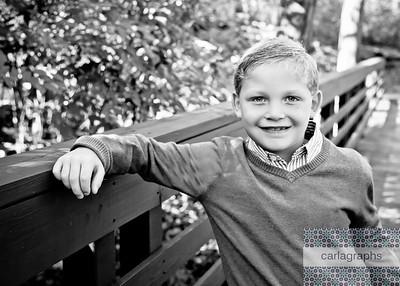 Ethan on Bridge bw (1 of 1)