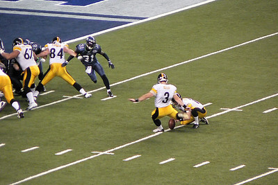 Super Bowl XL field goal attempt