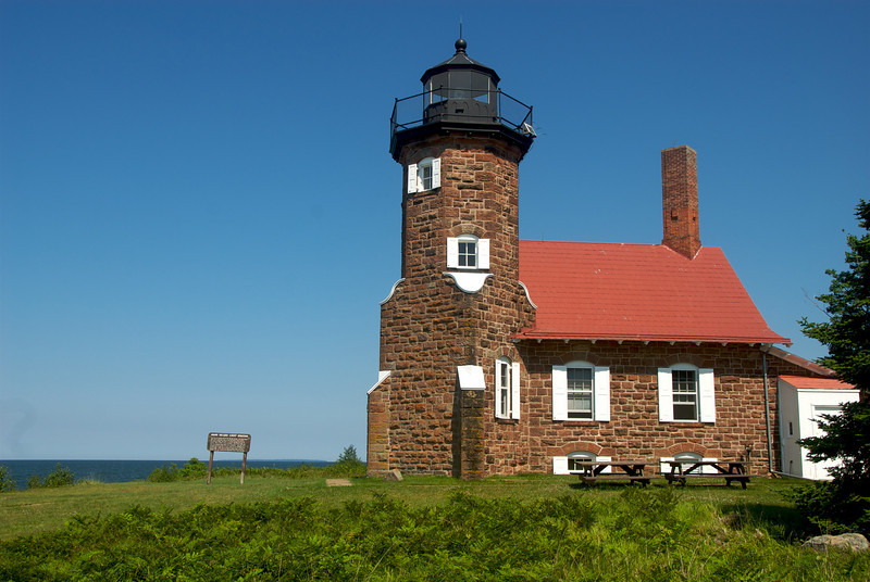 Well worth the walk, this is the light house at the end of Sand Island.