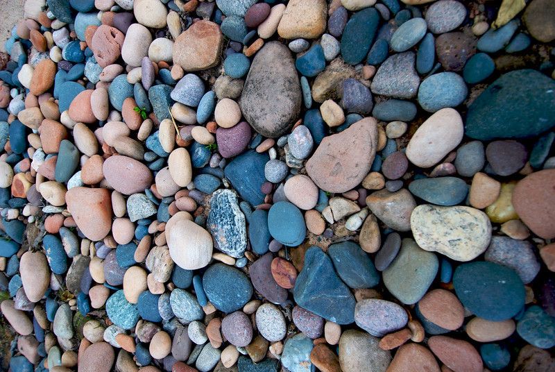 We wanted to bring all the rocks home with us, but settled for only a select few.
