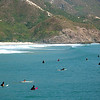 Once the others have made the two hour trek to the beach, you'll have an increased but manageable crowd to share the fun with. Big Wave Bay, on Hong Kong Island, is a different story with throngs of surfers, bodyboarders, and swimmers.