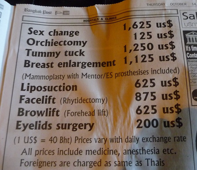 Plastic Surgery in Asia   Quirky Travel Story