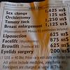Sex change surgery in Thailand.