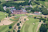 Aerial photo of Windlesham Golf Club.