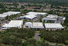 Aerial photo of Blackbushe Business Park.
