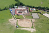 Aerial photo of Cottage Farm Stables.