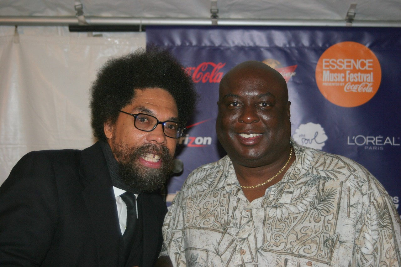 me and cornel west