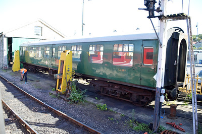 MK1 TSO  S4349 at Swanage Station  08/09/16.