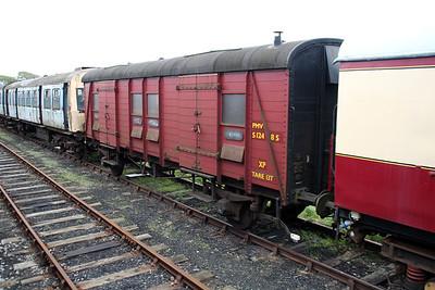 SR PMVY s1248s at Harmans Cross Sidings  10/05/14.