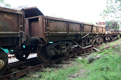 34t Turbot either DB978059 or DB978683 at Eldon Sidings  10/05/14.  There was no markings on either!!