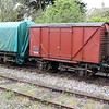 12t Shocvan B854906 at Corfe Castle Sidings  10/05/14.