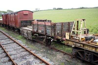 13t 5 Plank Open B740044 at Harmans Cross Sidings  10/05/14.
