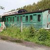 LSWR Grounded Coach 4550 at Swanage Sidings  10/05/14.