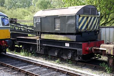 15t Crane FBC No1 at Norden Station sidings  10/05/14.