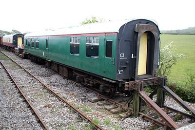 MK1 TSO S1885 at Harmans Cross Sidings  10/05/14.