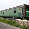 MK3 Sleeper 10619 at Swanage Sidings  10/05/14.