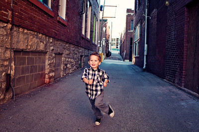 Give a kid an alley and let him run!!