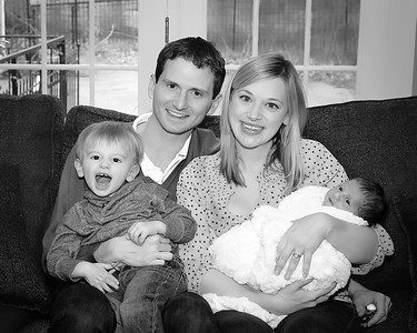 The Family, 8x10 cropped bw (1 of 1)