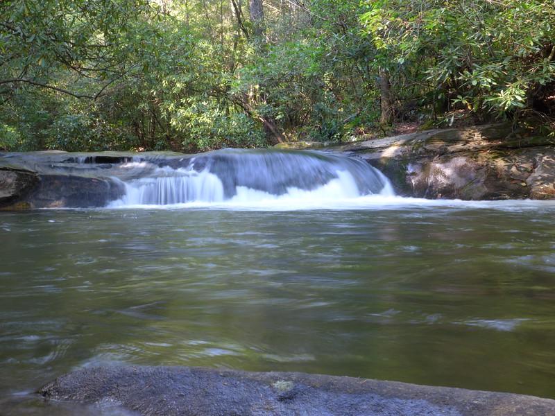 Swimming hole along Matthews Creek