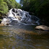 Swimming hole at the base of Rich Falls
