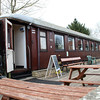 NSB Open Saloon 645 at Blunsdon Station   15/03/14