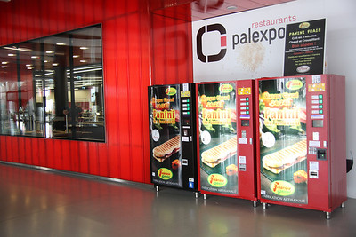 """The conference center """"Palexpo"""""""