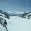 Up the Jungfrau mountain