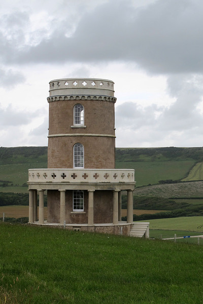 Clavell tower, Kimmeridge - moved in recent years away from the eroding cliff edge.