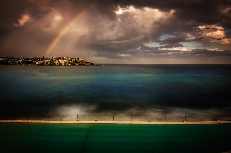 Bondi Beach, Eastern Beaches of Sydney.