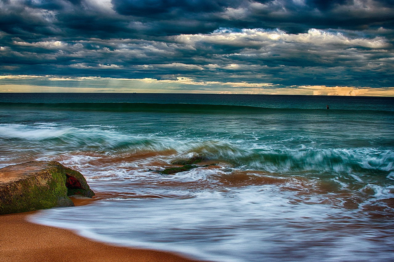 Mona Vale Beach, Northern Beaches of Sydney.
