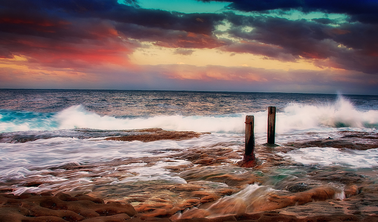 Coogee Beach, Eastern Beaches of Sydney.